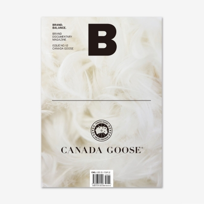 Magazine B Issue No.12 CANADA GOOSE(Eng.version)