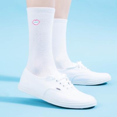 Logo White Socks / 씨앤립 로고 화이트 양말