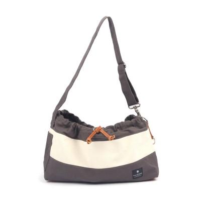 [blackmayonnaise] Dog Messenger Bag_Dark Gray