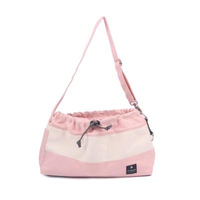 [blackmayonnaise] Dog Messenger Bag_Pink