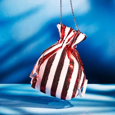 ALICE SHINING POUCH_RED