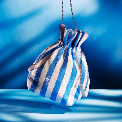 ALICE SHINING POUCH_BLUE