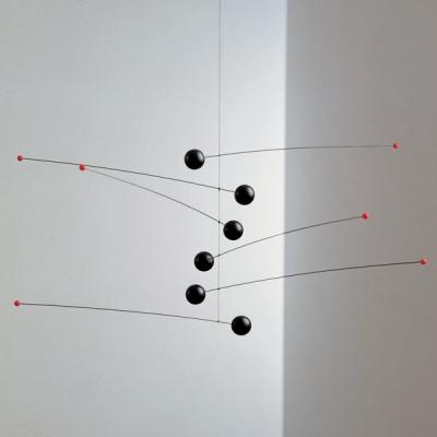 Flensted Mobiles - Futura, Black (플렌스테드 퓨쳐 모빌 블랙)