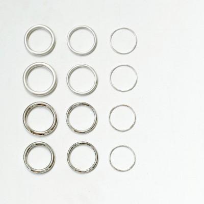 [normaldott] classic silver ring _ 3 types