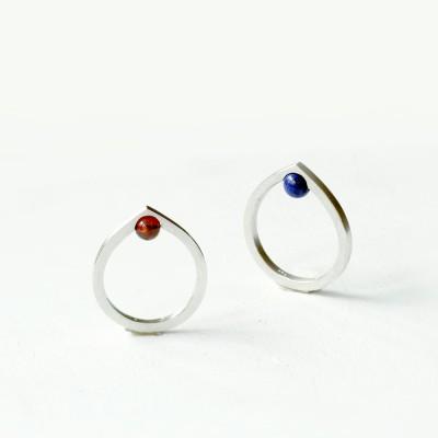 [normaldott] Dewdrop silver ring