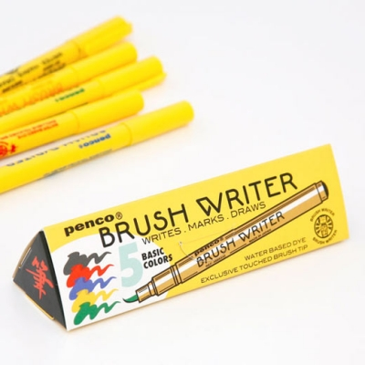 Penco Brush Writer Pen (5options)