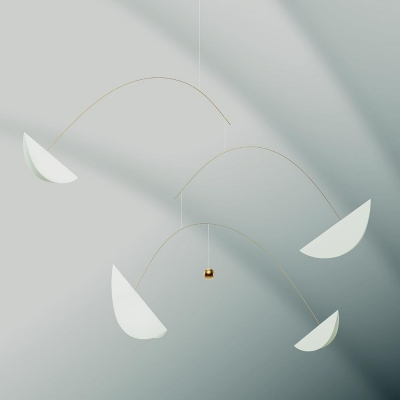 Flensted Mobiles - Life and Thread, White Gold (플렌스테드 모빌)
