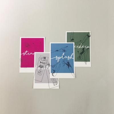 Postcards SET(4EA)