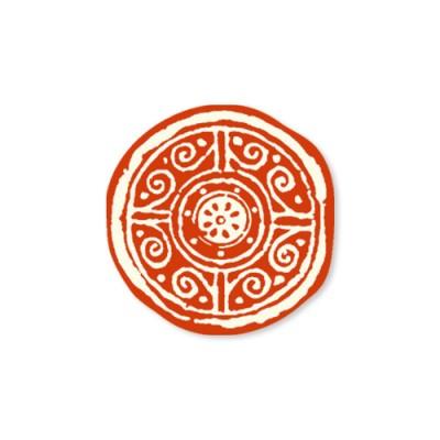 전통문양 스티커(10개)