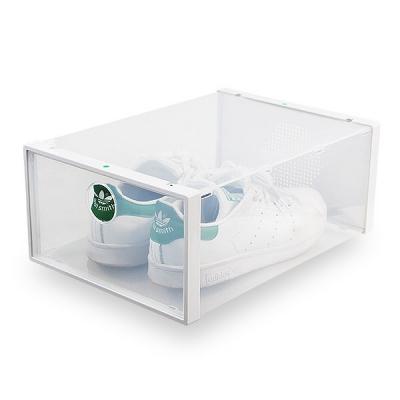 신발 수납박스 인테리어 보관 확인 투명 슈즈정리함_(670968)