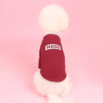 무드맨투맨(burgundy) Mood MTM