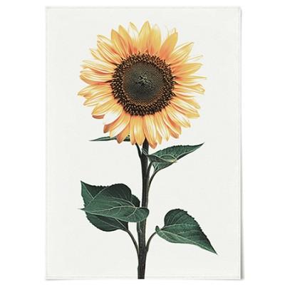 패브릭 포스터 F070 풍수지리 식물 꽃 해바라기 no.2