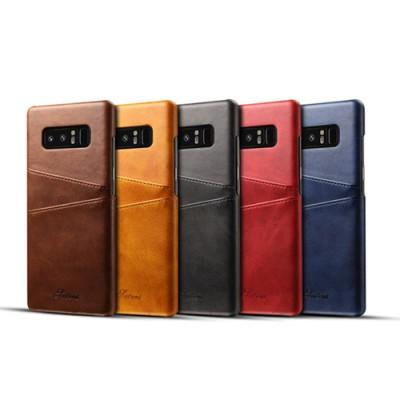 Note8 소가죽 카드 지갑 케이스