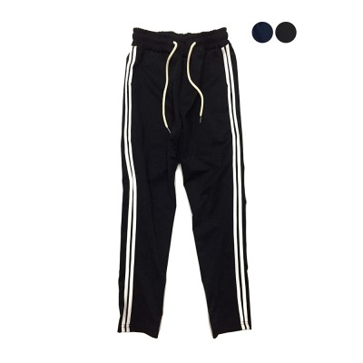 Two Line Jersey Track Pants (2color)(unisex)