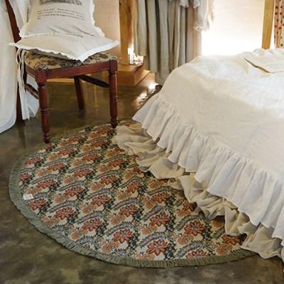 벨몬드 라운드 프린지 매트 : Belmond round fringe mat