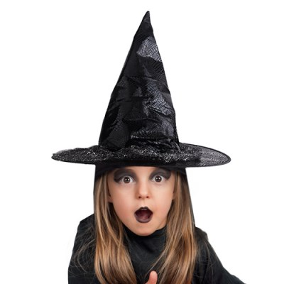 할로윈 트윙클 마녀모자