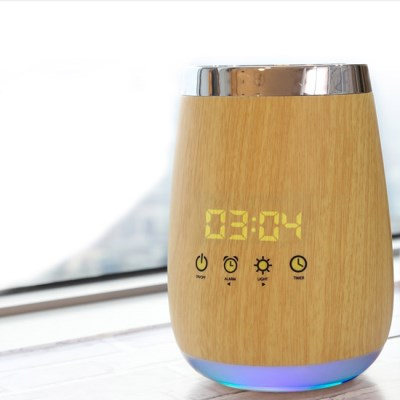 우드 LED 가습기 알람시계