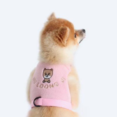 custom easy harness ( pink )