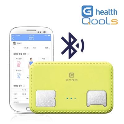 지헬스 휴대용 블루투스 체지방 측정기 QSCD-0A 카드형