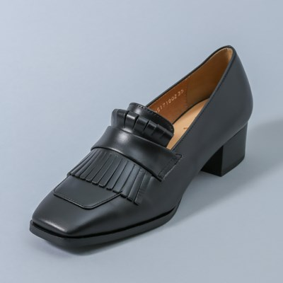HS1710 Tassel Loafer_Black