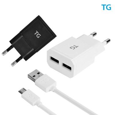 TG삼보 2.4A 2구 USB 고속충전기 TG-HC2421