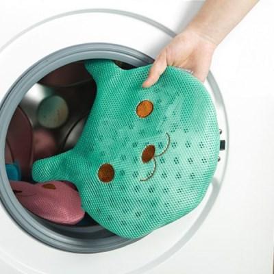 애니멀 메쉬 속옷 세탁망