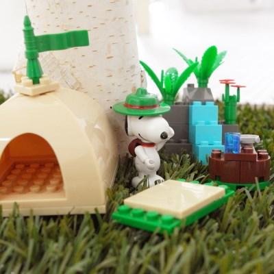 피넛츠(스누피) 블록 Beagle Scout 캠핑텐트