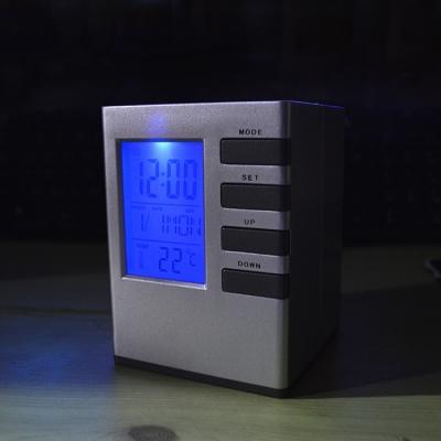 큐브 펜꽂이 탁상시계 6800_(707619)
