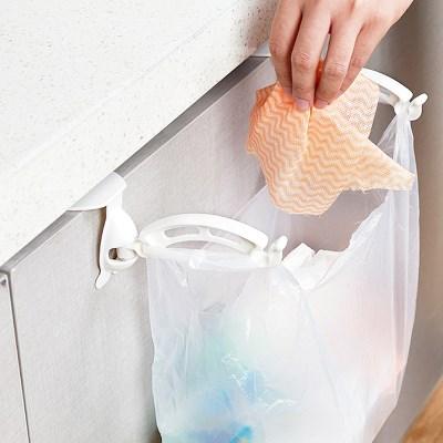 싱크대 주방선반 비닐봉지걸이 홀더 [576]