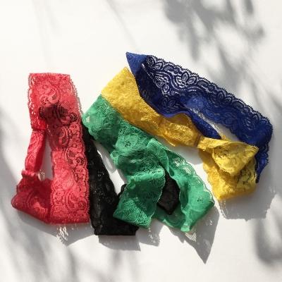 lace hairband (레이스 헤어밴드)