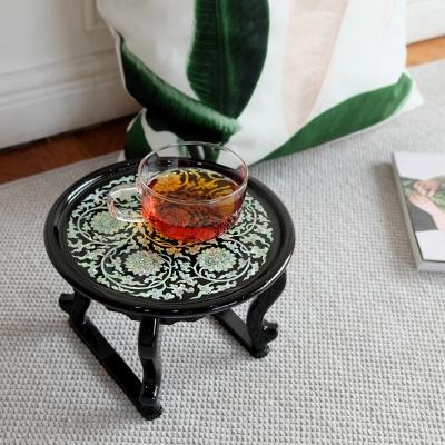 '불꽃당초'찻상(티테이블)