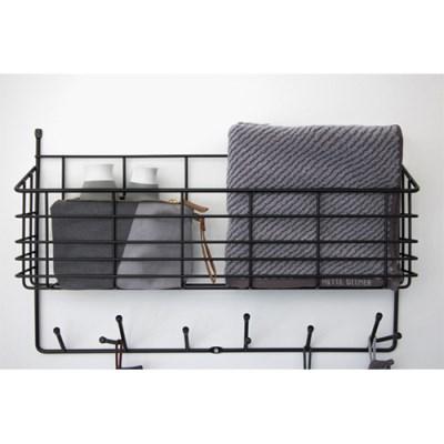 메테디트머 고급 사선 타올 Diagonal grey towel