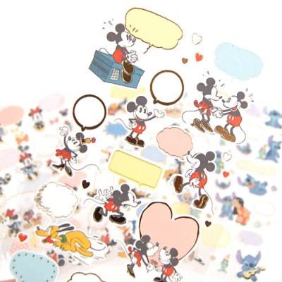 DISNEY GOODS 디즈니 캐릭터 말풍선스티커