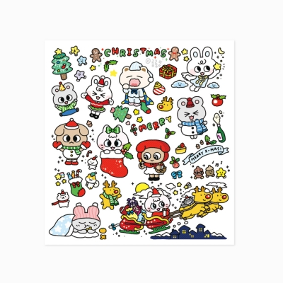 [룸룸] 크리스마스 룸룸 스티커_텐바이텐 에디션
