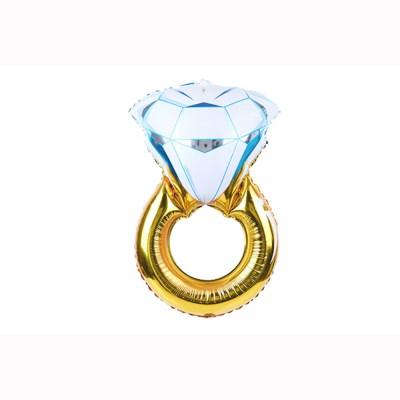 [브라이덜샤워 파티용품] 다이아몬드 링풍선