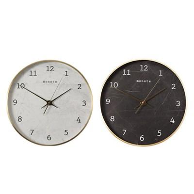 [모노뜨] 30cm 골드프레임 마블벽시계