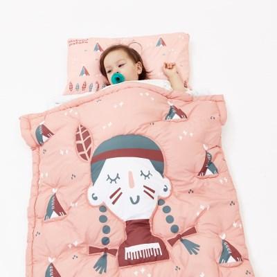 [하쥬르] 알러지케어 프리미엄 일체형 낮잠이불 - 하쿠나마타타