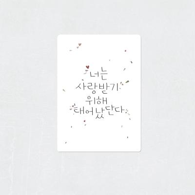 성장카드 365베베 시즌2 / 12개월 - 24개월 / 34장
