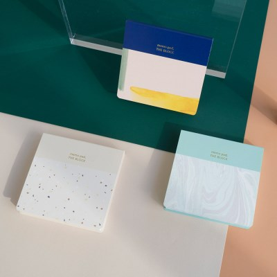Memo pad set (3pcs)