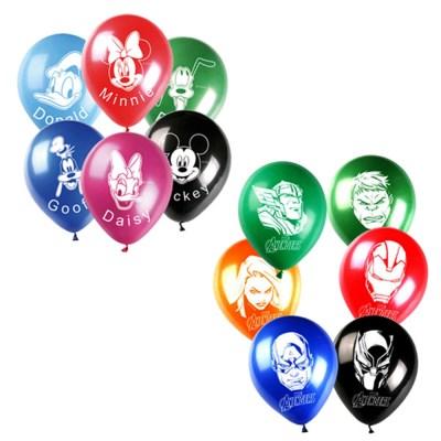 디즈니마블 캐릭터풍선 (6개입)