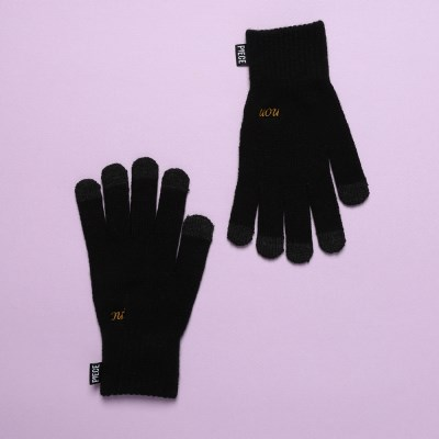 OUI NON SMART GLOVES (BLACK)