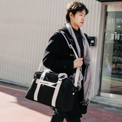 [로아드로아] BAAM BOSTON BAG (BLACK)_(733940)