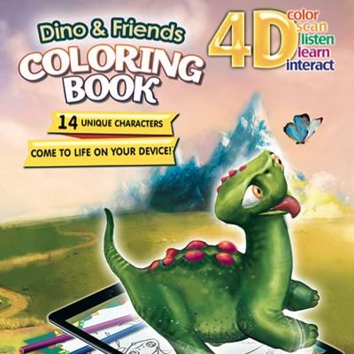 [DEVAR] 4D 공룡과 친구들 AR 컬러링북
