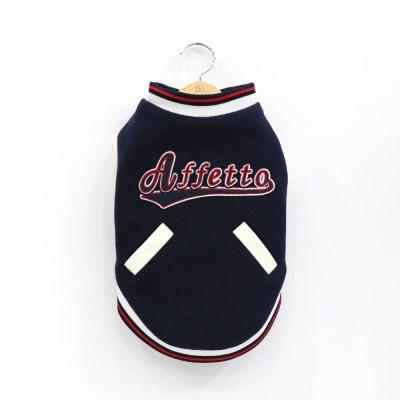 아페토의류_(100% 천연 양모) 베이스볼 야구점퍼 [JP15]