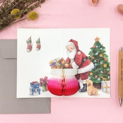 POP UP CARD_SANTA CLAUS
