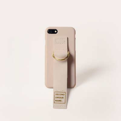 SUN CASE LEATHER NATURAL IVORY