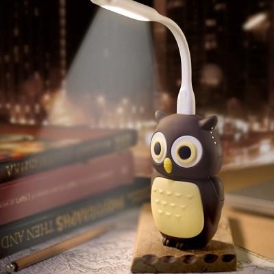 버블본 3D 오울 부엉이 LED 보조배터리 6700