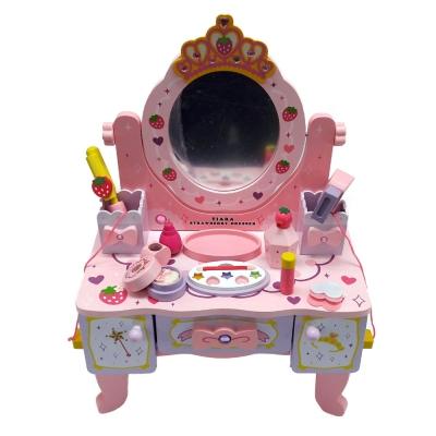 [들딸기]왕관 화장대 소꿉놀이 세트