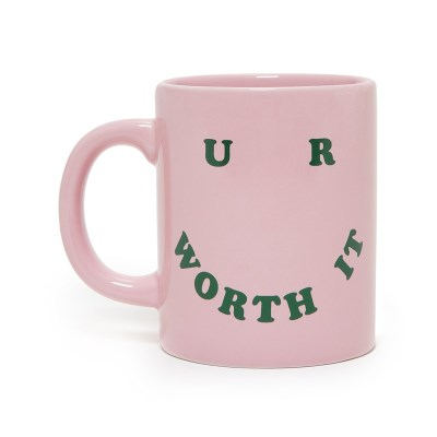 HOT STUFF CERAMIC MUG - U R WORTH IT