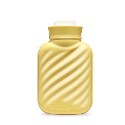 에바 실리콘 보냉/보온 물주머니-옐로우 (파우치 증정)